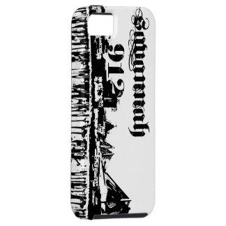 Savannah Ga grunge iphone 5 skyline case