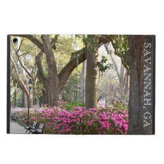 Savannah GA in Spring | Forsyth Park Azaleas Oaks Case For iPad Air