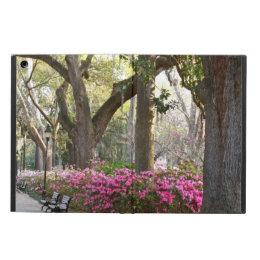 Savannah GA in Spring | Forsyth Park Azaleas Oaks iPad Air Case