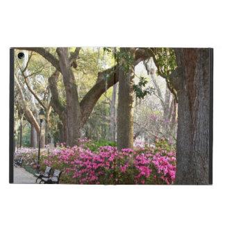 Savannah GA in Spring Forsyth Park Azaleas Oaks iPad Air Covers