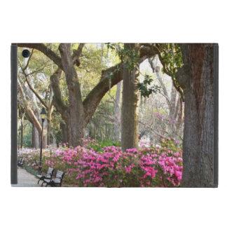 Savannah GA in Spring Forsyth Park Azaleas Oaks Cases For iPad Mini