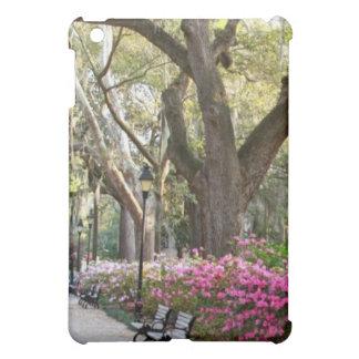 Savannah GA in Spring Forsyth Park Azaleas Oaks Case For The iPad Mini