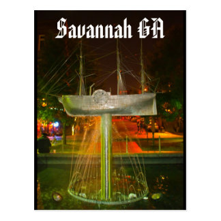 Savannah GA Post Cards