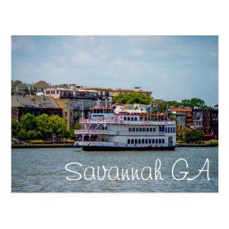 Savannah GA Postcard