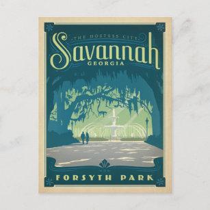 Savannah, GA Postcard