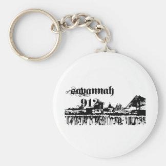 Savannah ga put on for your city line keychain