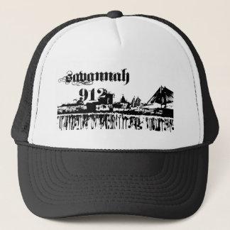 Savannah ga put on for your city line trucker hat