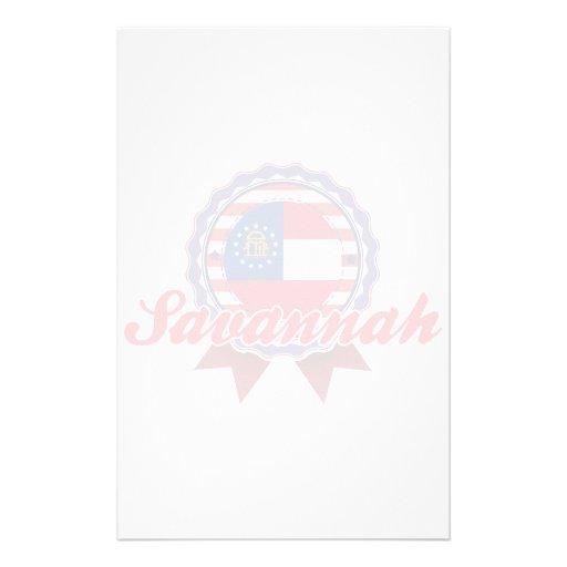 Savannah, GA Stationery Paper
