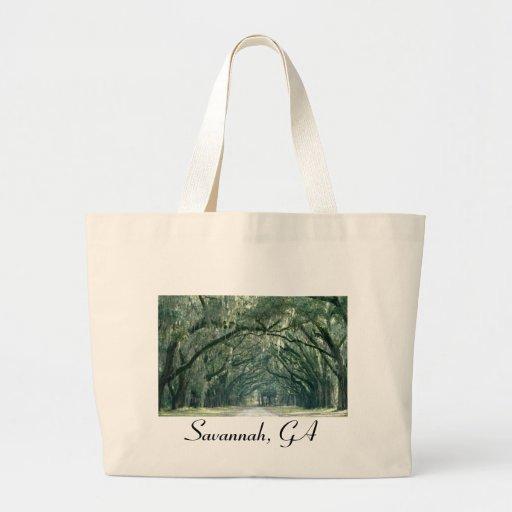 Savannah, GA Tote Canvas Bag