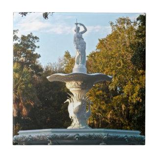 Savannah Georgia Forsyth Park Fountain Tile