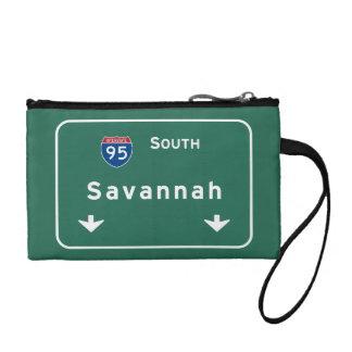 Savannah Georgia ga Interstate Highway Freeway : Coin Wallet