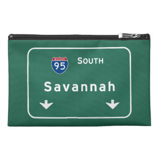 Savannah Georgia ga Interstate Highway Freeway : Travel Accessories Bag