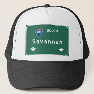 Savannah Georgia ga Interstate Highway Freeway : Trucker Hat