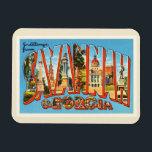 "Savannah Georgia GA Old Vintage Travel Souvenir Magnet<br><div class=""desc"">Savannah,  Georgia GA  A nostalgic,  vintage travel souvenir postcard image,  an authentic retro design. Greetings from the American Travelogue Virtual Touring Company!</div>"