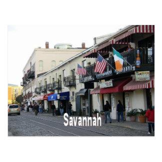 Savannah Georgia GA Postcard