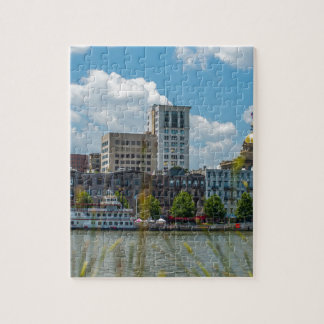 savannah georgia historic architecture ancient cit jigsaw puzzle