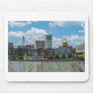 savannah georgia historic architecture ancient cit mouse pad