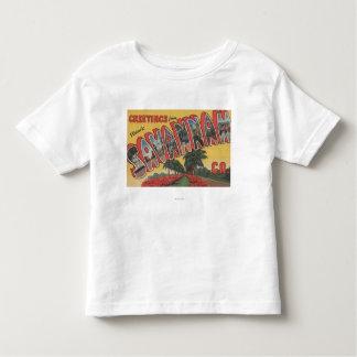 Savannah, Georgia (Historic) - Large Letter Toddler T-shirt