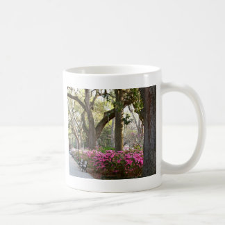 Savannah Georgia in Spring Forsyth Park Azaleas Oa Coffee Mug