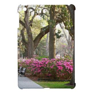 Savannah Georgia in Spring Forsyth Park Azaleas Oa Case For The iPad Mini
