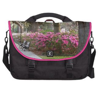 Savannah Georgia in Spring Forsyth Park Azaleas Oa Commuter Bags