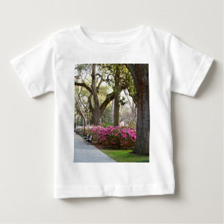 Savannah Georgia in Spring Forsyth Park Azaleas Oa Tshirt