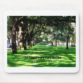 SAVANNAH, GEORGIA MOUSE PAD