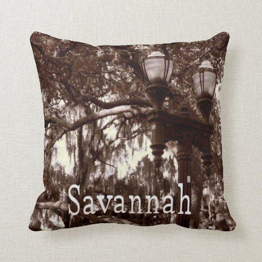 Savannah Georgia Pillow