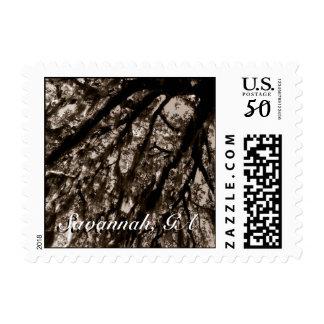 Savannah Georgia Postage Stamp