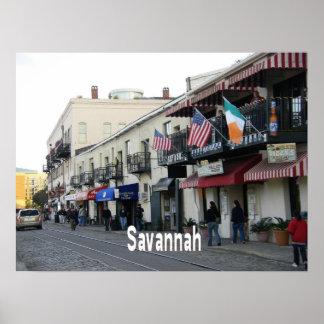 Savannah Georgia Poster