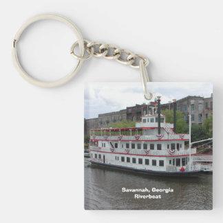 Savannah Georgia Riverboat Keychain