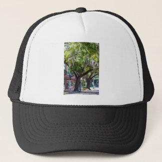 savannah georgia spanish moss trees plants trucker hat