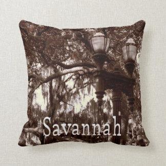 Savannah Georgia Throw Pillow