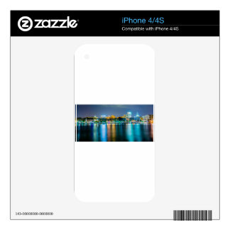 savannah georgia town usa waterfront evening river iPhone 4S skins