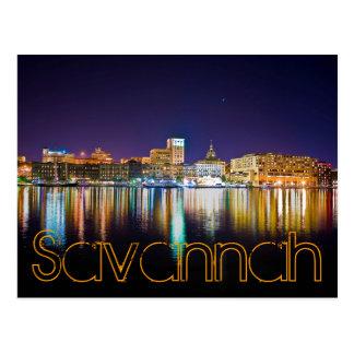 Savannah, Georiga, U.S.A. Post Card