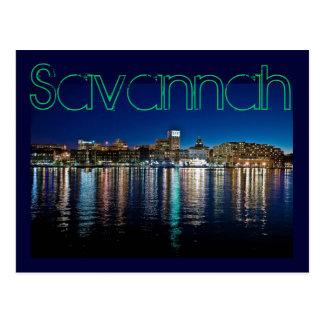 Savannah, Georiga, U.S.A. Postcards