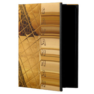 Savannah Giraffe Kenya Inspired Tiles Art Design iPad Air Cover