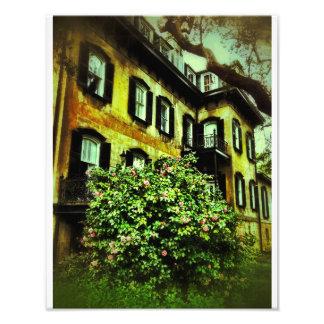 Savannah House on Gaston Street Photo Print