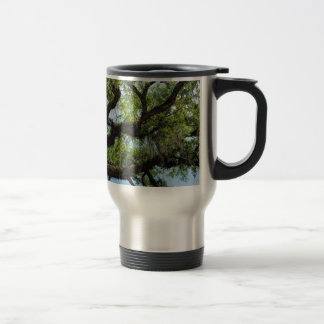 Savannah Live Oak And Spanish Moss Travel Mug