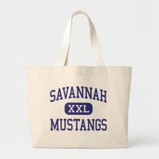 Savannah Mustangs Middle Grifton Canvas Bag