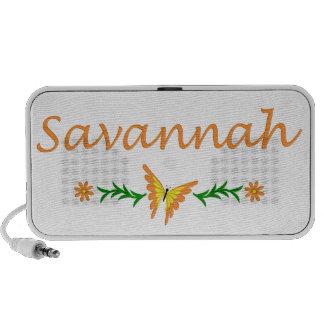 Savannah (Orange Butterfly) Travel Speaker