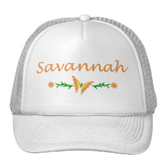 Savannah (Orange Butterfly) Trucker Hat