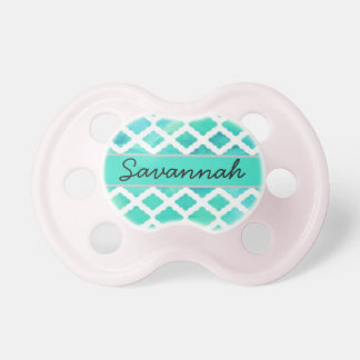 """""""Savannah"""" Personalized Name Pacifier"""