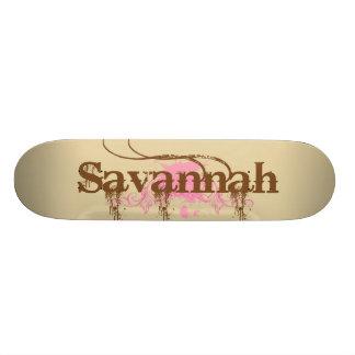 Savannah Personalized Skateboard