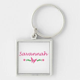 Savannah (Pink Butterfly) Keychain