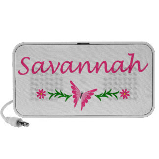 Savannah (Pink Butterfly) iPod Speaker