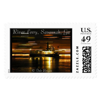 Savannah River Ferry Stamps