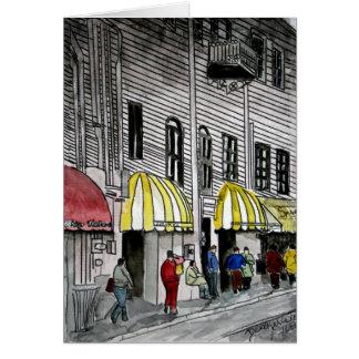 Savannah River Street 4 Card