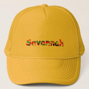 8da87a927dc Savannah Solid Yellow Trucker Cap