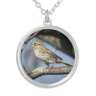 Savannah Sparrow Personalized Necklace